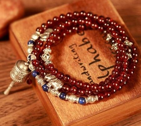 tibetan prayer wheel bracelet