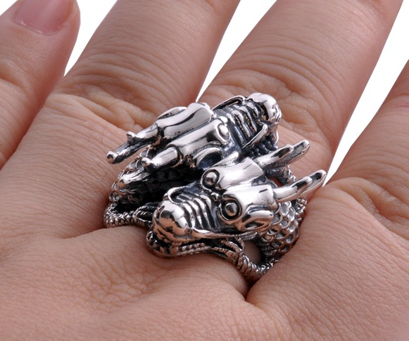 dragon finger ring