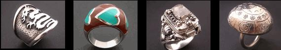 tibetan stirling silver ring